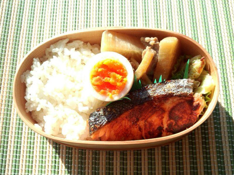 きょうのおべんとう「鮭弁」
