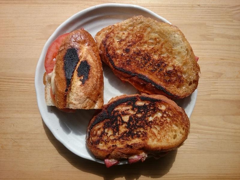 きょうのおひる「キューバサンドイッチ」