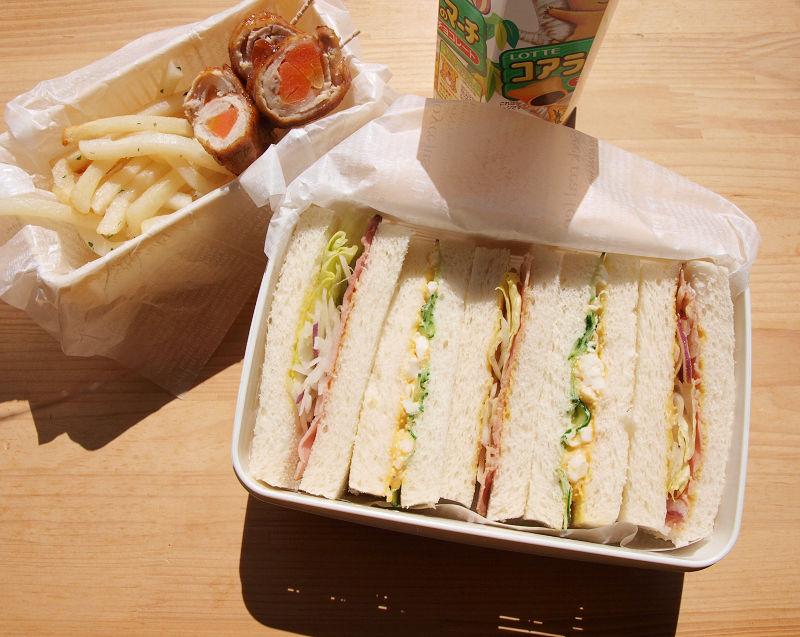 きょうのおべんとう「サンドイッチ」