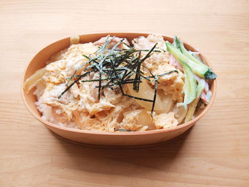 きょうのおべんとう「親子丼」