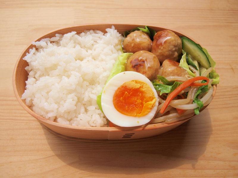 きょうのおべんとう「肉団子の甘酢炒め」