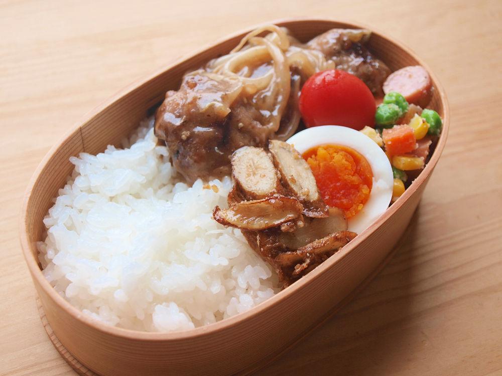 きょうのおべんとう「甘酢肉団子」