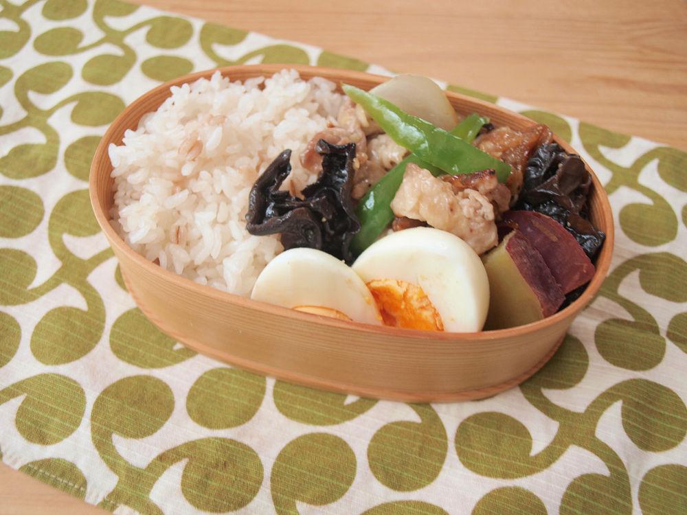 きょうのおべんとう「野菜炒め弁当」