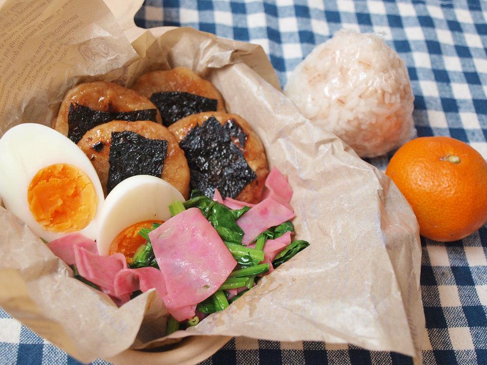 きょうのおべんとう「里芋の磯辺焼き」