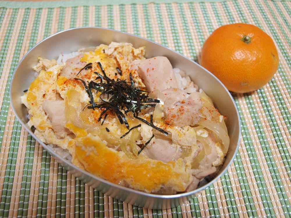 きょうのおべんとう「親子丼弁当」