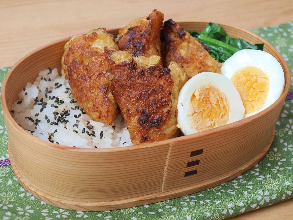 きょうのおべんとう「豆腐からあげ弁当」