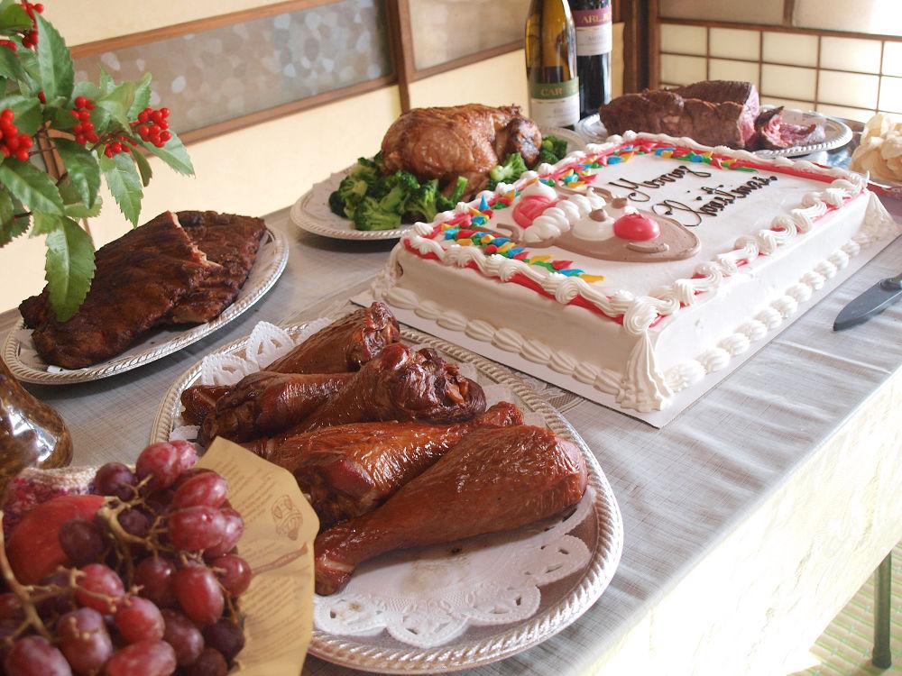 【総重量8kg】2016年クリスマス 肉祭り!!【ケーキもあるよ!】