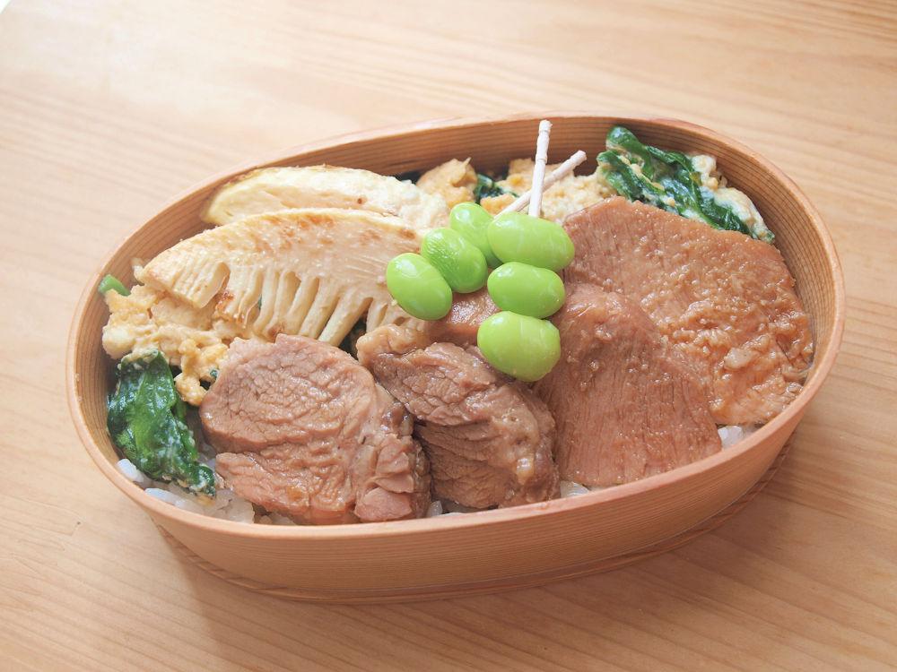 きょうのおべんとう「レンチン豚丼」