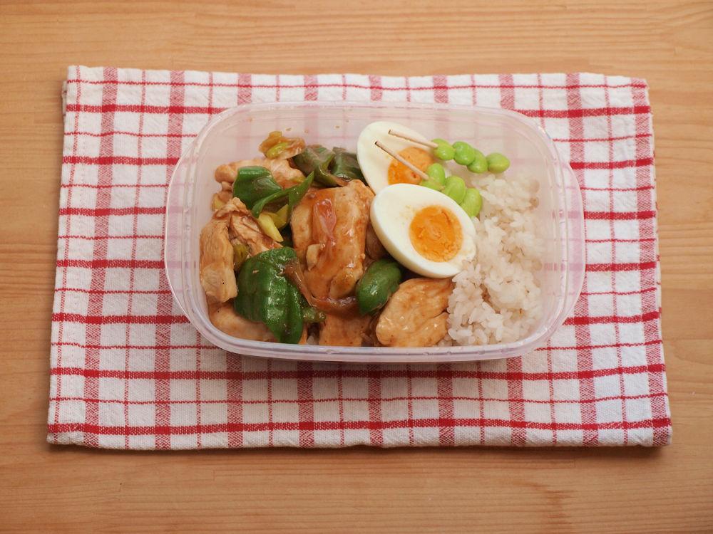 きょうのおべんとう「酢鶏弁当」