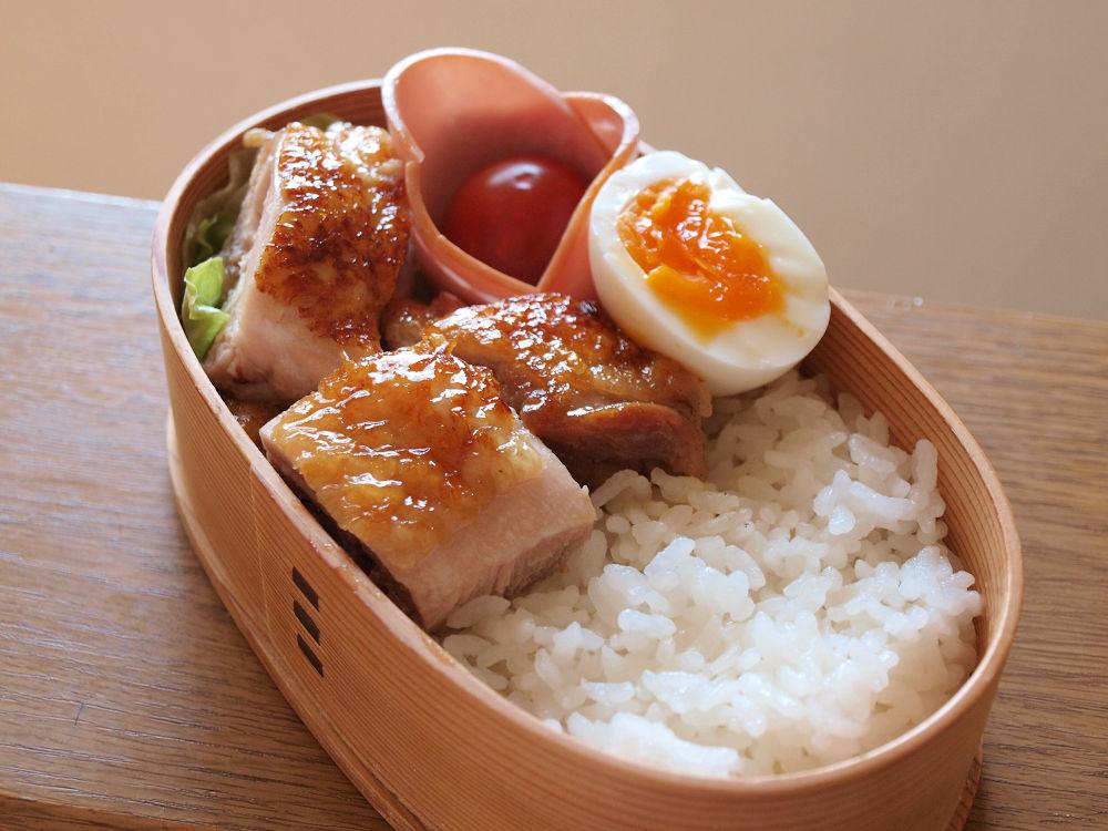 きょうのおべんとう「鶏の照り焼き弁当」