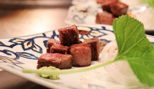 たまには贅沢なステーキディナー!「横浜うかい亭」